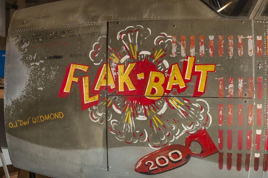 """Martin B-26B-25-MA Marauder """"Flak-Bait"""""""