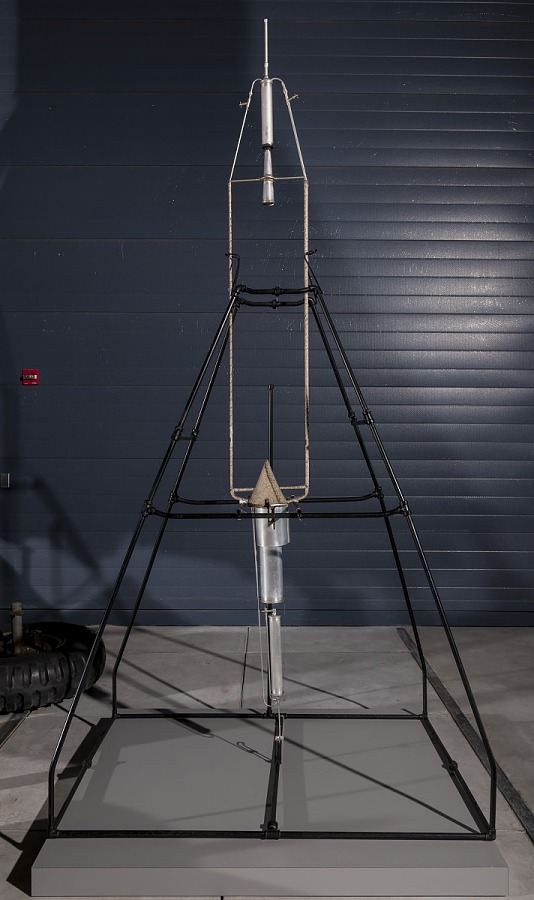 Model, Rocket, Liquid Fuel, 16 March 1926, Goddard