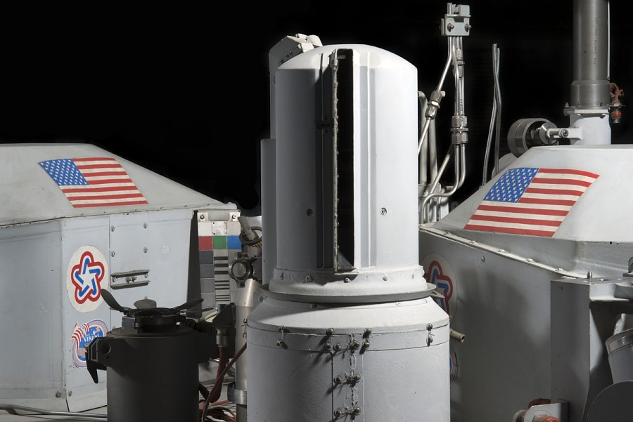 Gray cylinder shaped Viking Mars Lander Camera