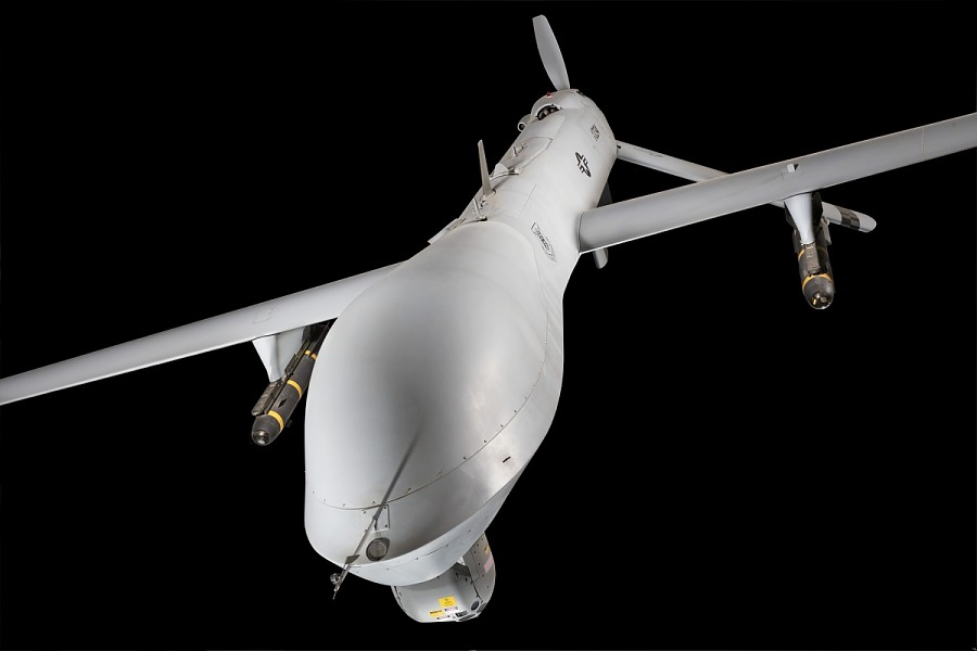 Nose of General Atomics MQ-1L Predator A UAV