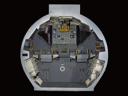 Cockpit, Lunar Module, Apollo, Mockup