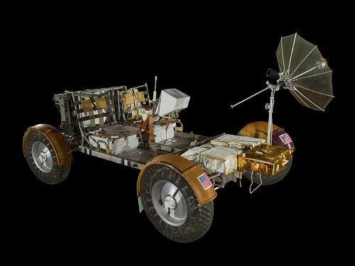 Lunar Roving Vehicle, Qualification Test Unit
