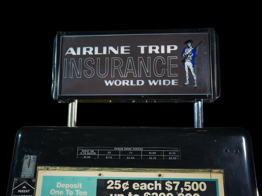 Vending Machine, Insurance, Airline