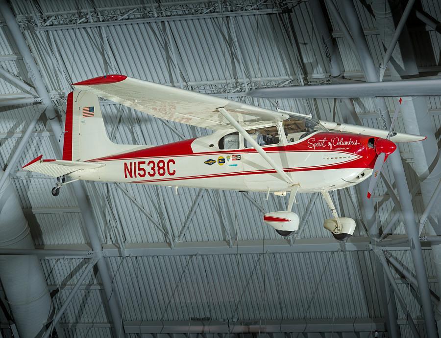 Cessna 180, SPIRIT OF COLUMBUS