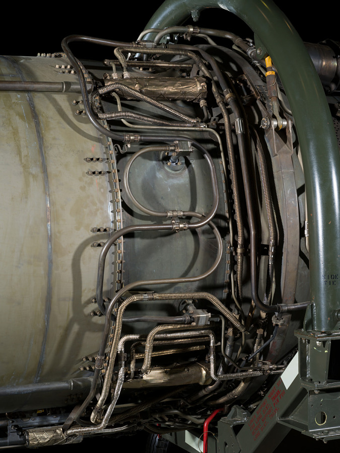 Pratt & Whitney J58 (JT11D-20) Turbojet Engine