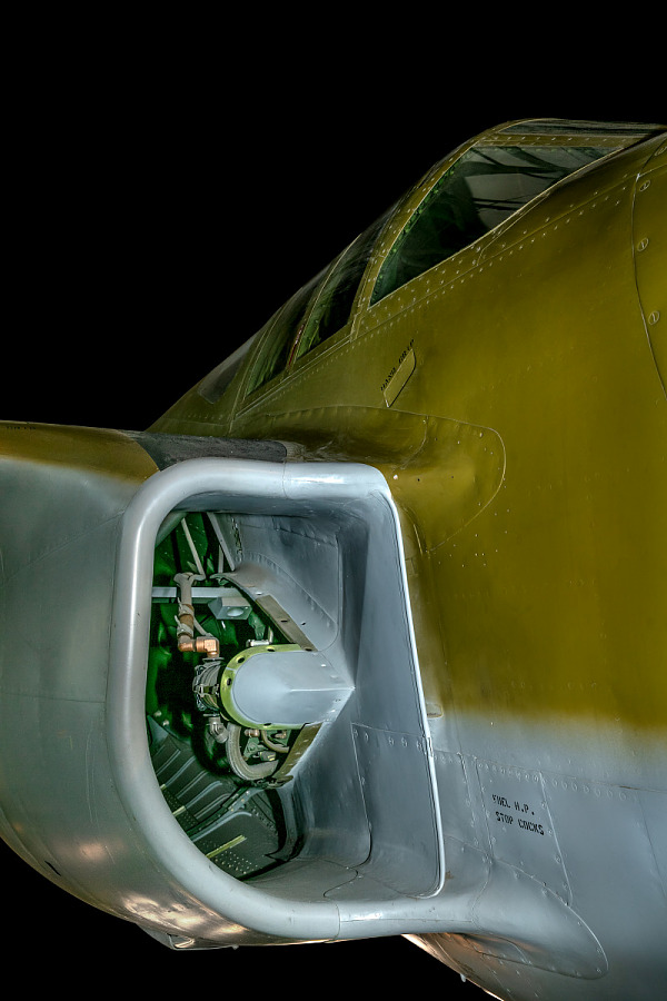 Bell XP-59A Airacomet Intake
