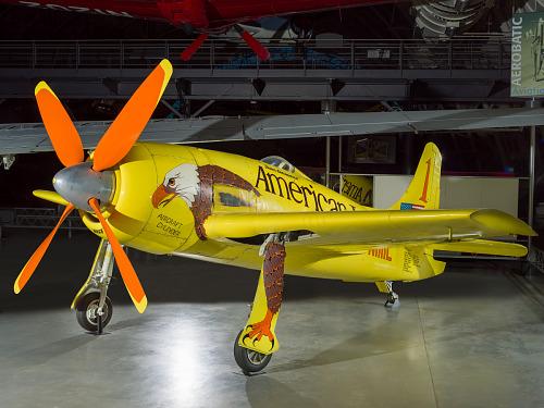 """Grumman F8F-2, Bearcat, """"Conquest I"""""""