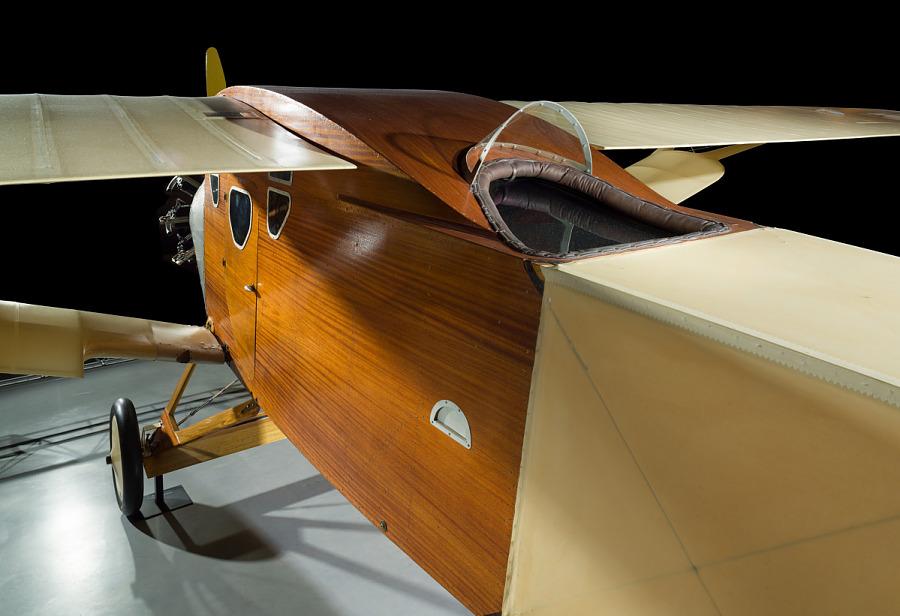 Bellanca C.F. Cockpit and Fuselage