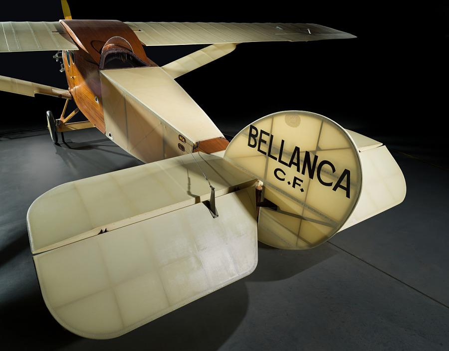 Bellanca C.F. Vertical and Horizonal Stabilizers.