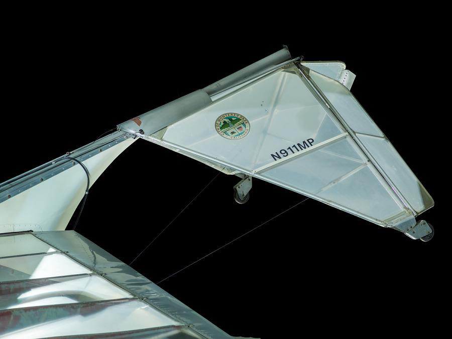 Ultraflight Lazair SS EC Rudder