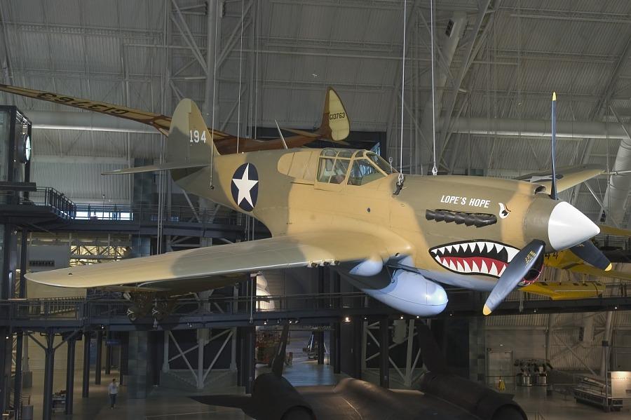 Curtiss P-40E Warhawk (Kittyhawk IA)