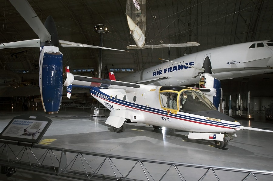 Bell XV-15 TRRA (Tilt Rotor Research Aircraft), Ship 2