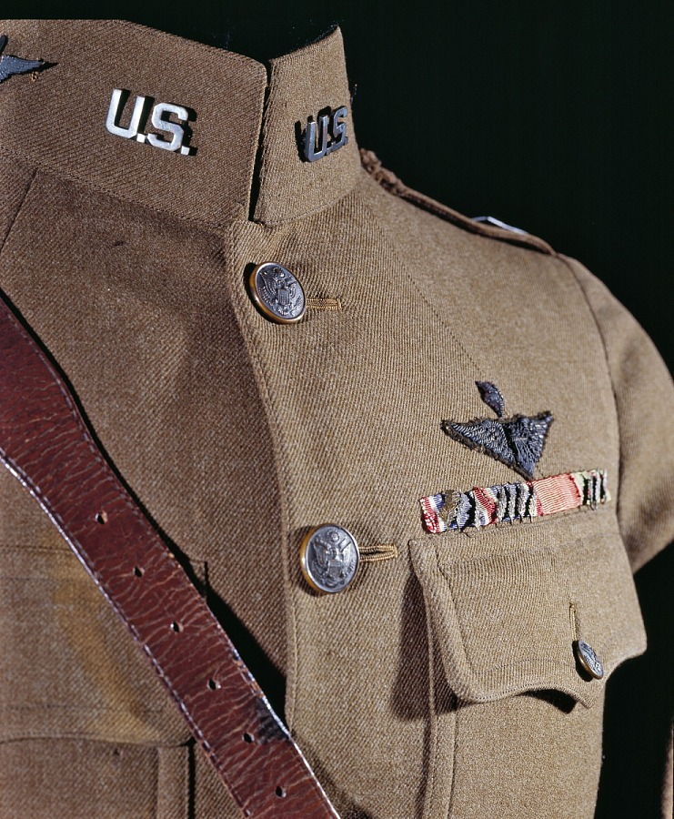 Coat, Service, United States Army Air Service, Captain Eddie Rickenbacker