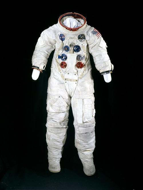 Pressure Suit, A7-L, Aldrin, Apollo 11, Flown