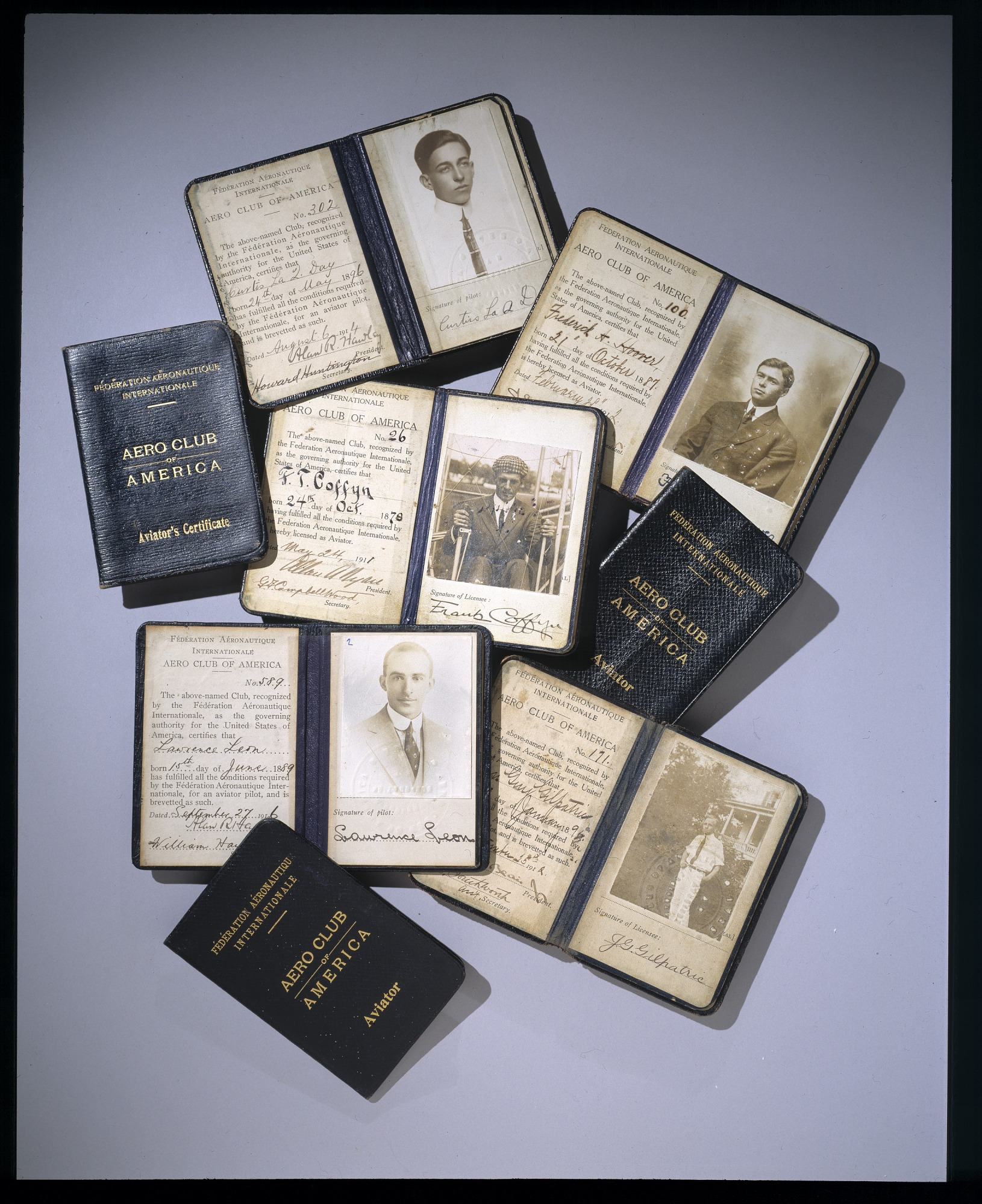 Pilots' Licenses Collection