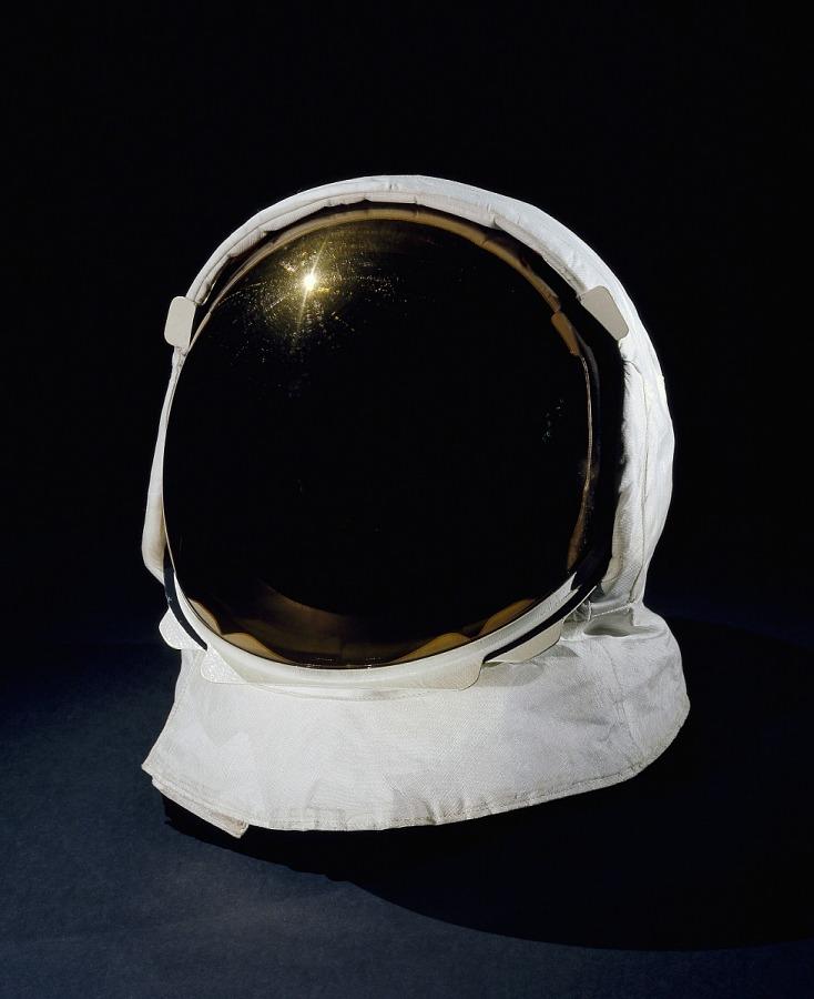 Visor, Extravehicular, Apollo, A7-L, Apollo 11, Armstrong, Flown