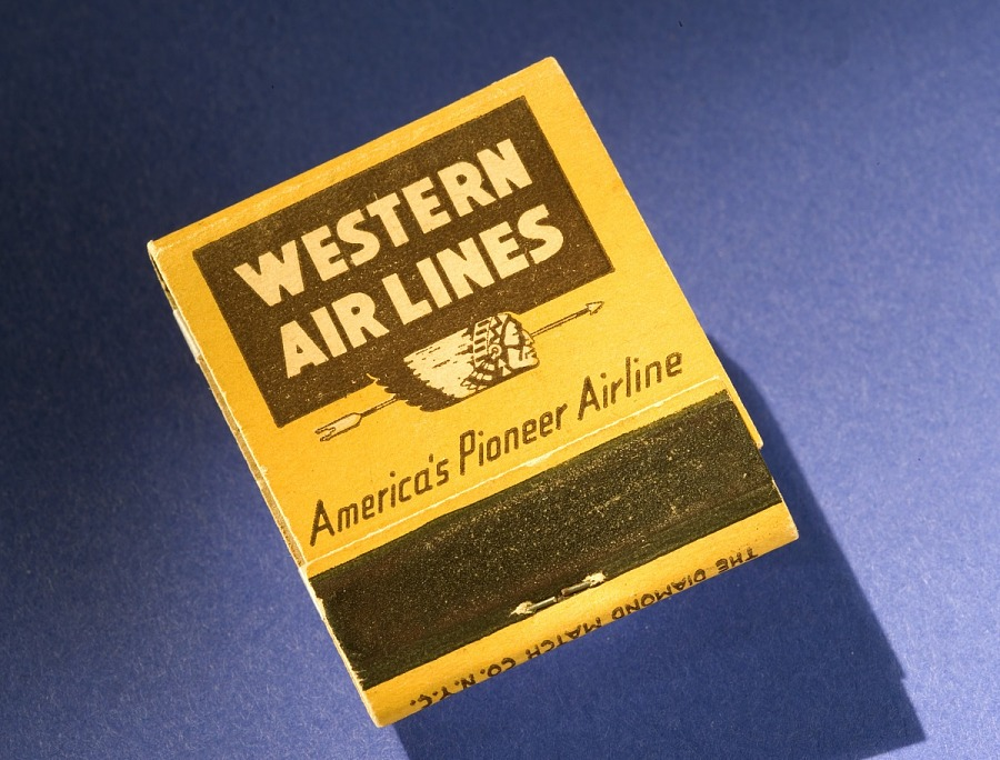 Matchbook, Western Airlines