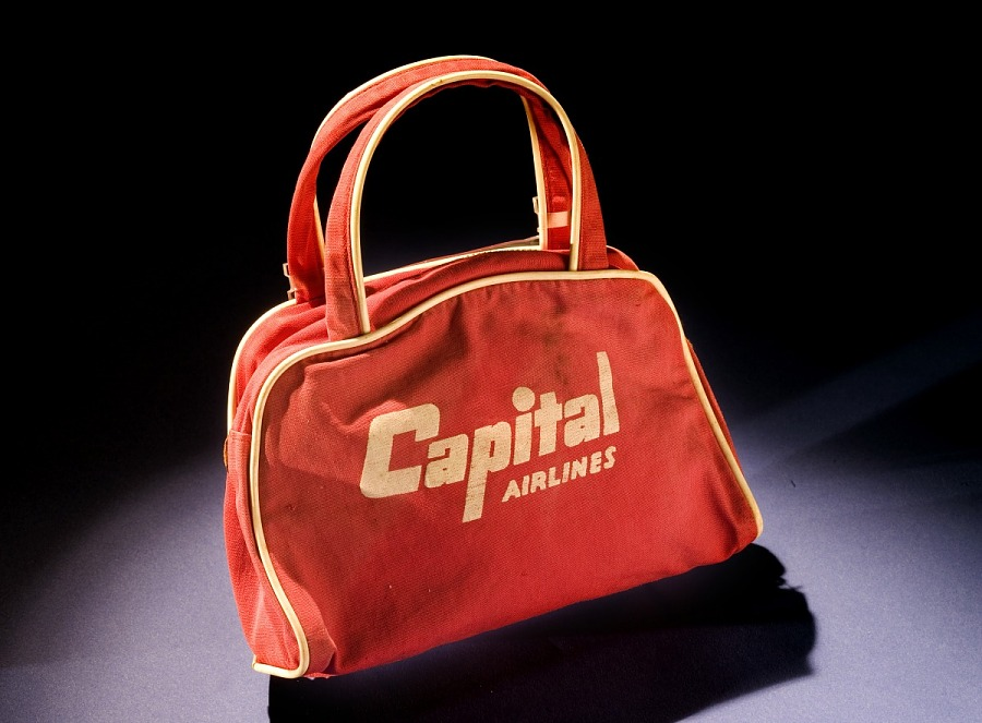 Candy Bag, Child, Capital Airlines
