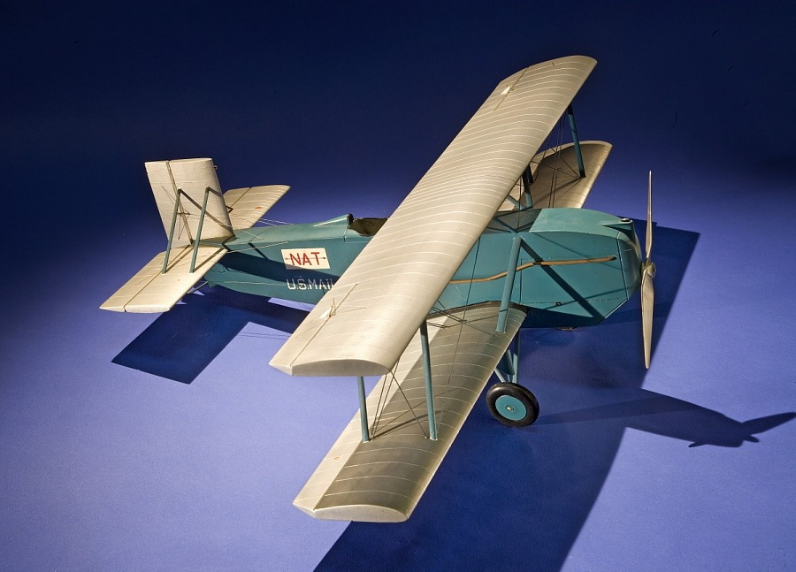 Model, Static, Curtiss Carrier Pigeon 1, National Air Transport (NAT)