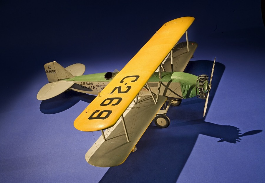Model, Static, Boeing Model 40A, United Air Lines
