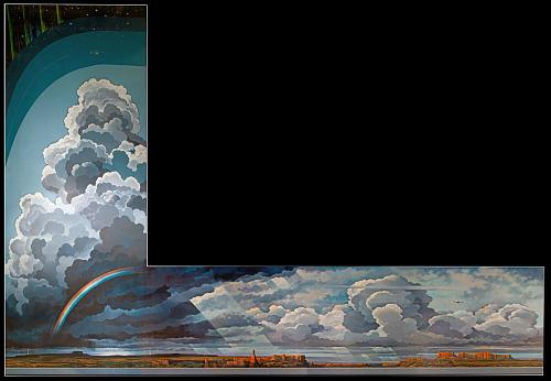<i>Earth Flight Environment</i> Mural (Eric Sloane)