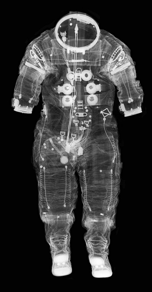 NASM Space Suit Collection X-Ray Photography