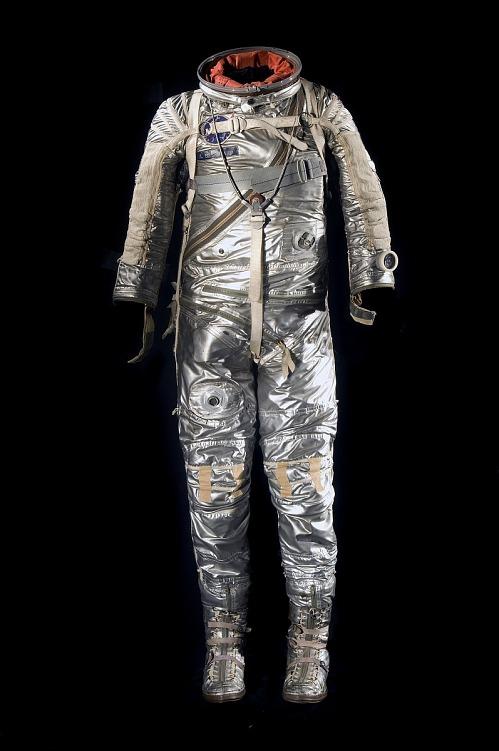 Pressure Suit, Mercury, Shepard, MR-3, Flown