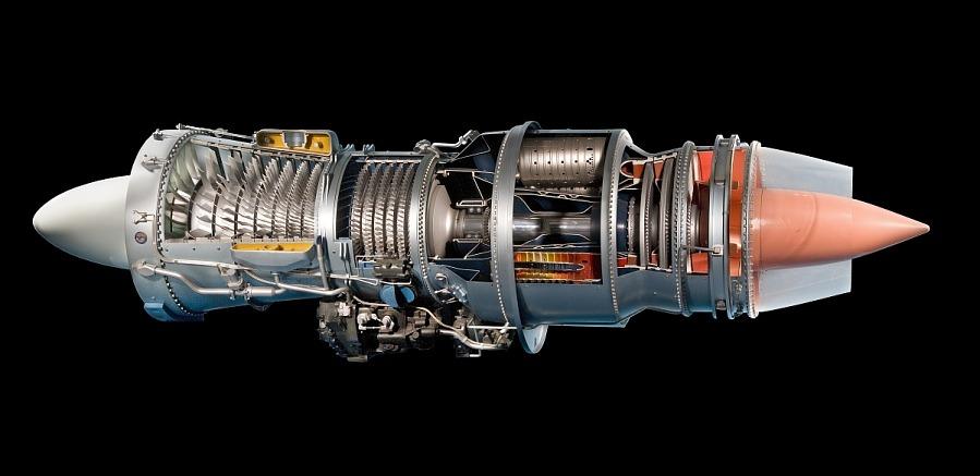 Turbojet Model Pratt & Whitney JT3C (J57)