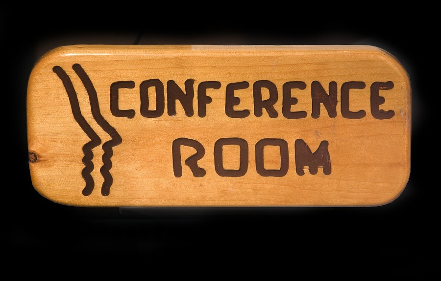 Conference Sign, Peoples Express