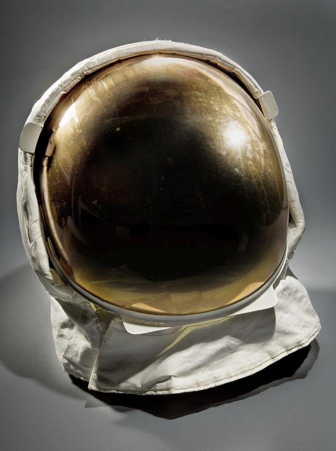Helmet, EV, Aldrin, Apollo 11