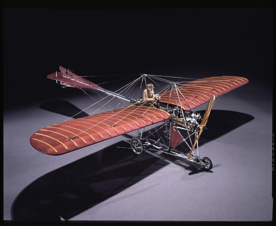 Model, Static, Johnson Monoplane, 1911