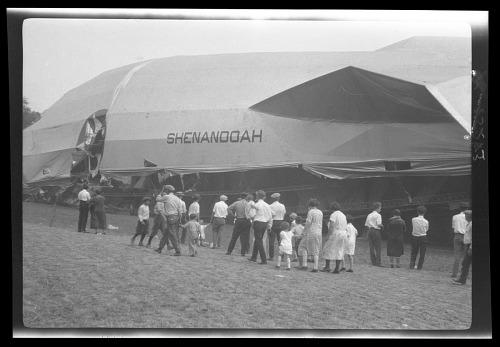 Shenandoah Crash Site Images