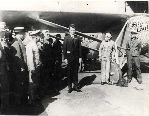 "Lindbergh, Charles Augustus; Ryan NYP ""Spirit of St Louis"". photograph"