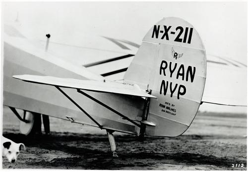 "Ryan NYP ""Spirit of St. Louis"". photograph"