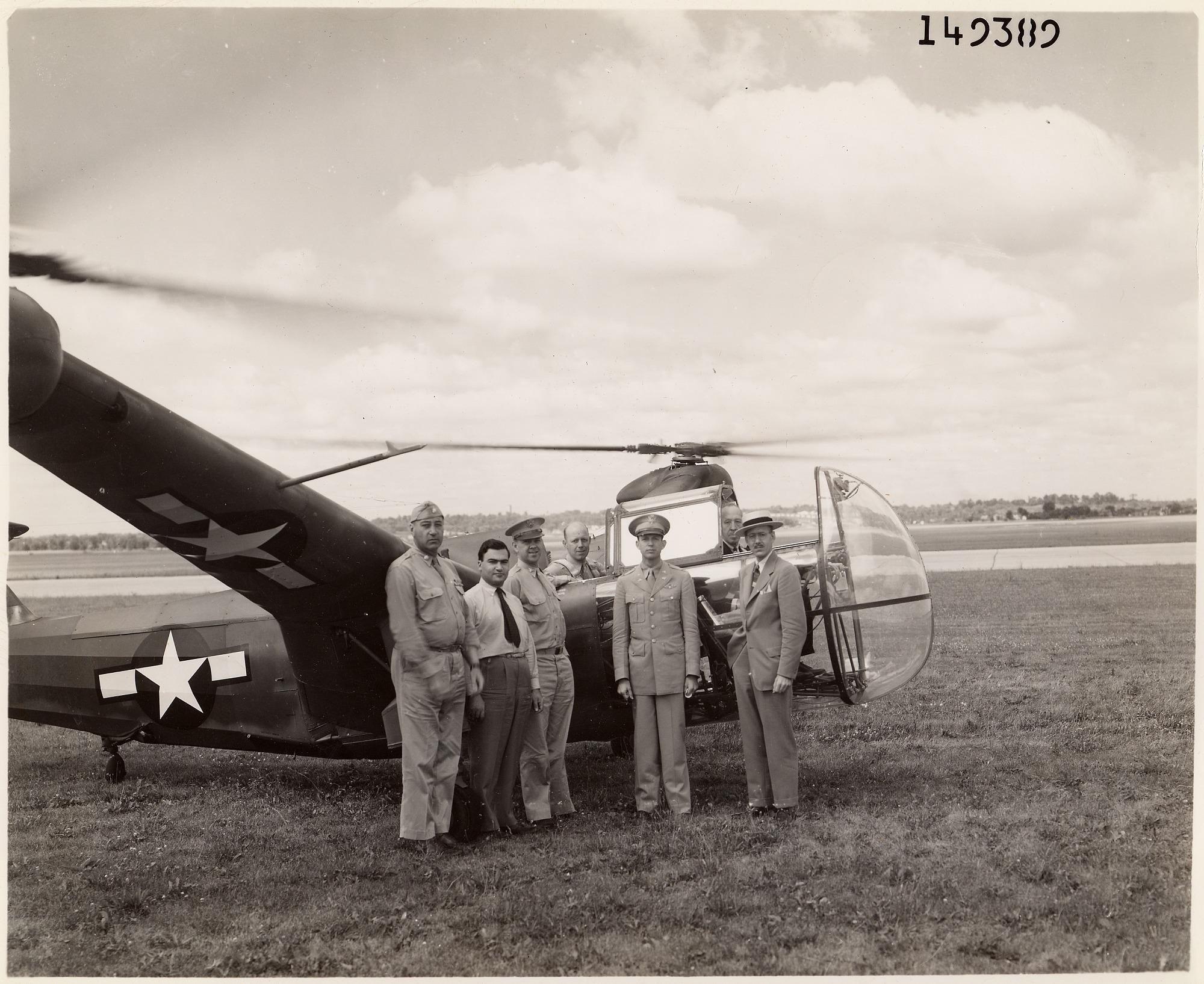 Mandel Lenkowsky Early Vertical Flight Development Collection