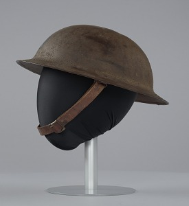 images for Combat helmet from World War I used by the 93rd Infantry Division-thumbnail 4