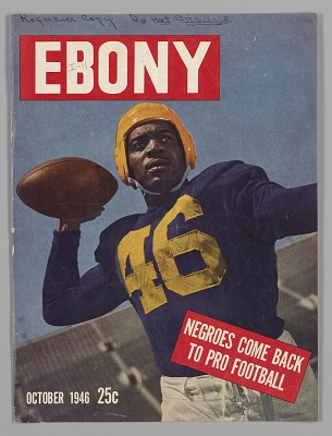 Front cover from Ebony magazine, October 1946