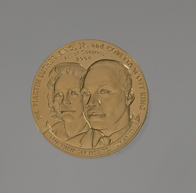 Congressional Gold Medal for Martin Luther King, Jr. and Coretta Scott King