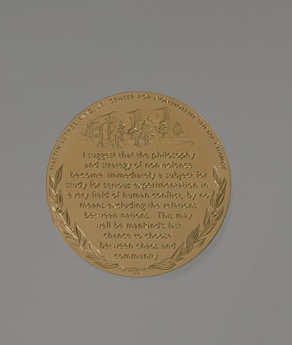 Image for Congressional Gold Medal for Martin Luther King, Jr. and Coretta Scott King