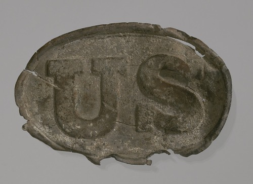 Image for Civil War-era belt buckle from Point of Pines Plantation