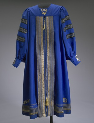 Academic robe worn by Dr. Johnnetta B. Cole at Bennett College