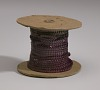 Thumbnail for Display stand with spools of thread and needles from Mae's Millinery Shop