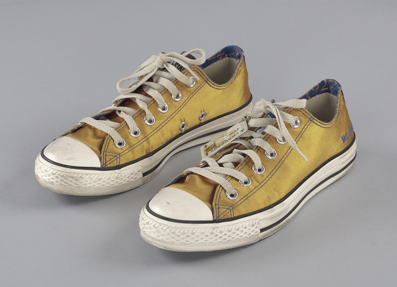 Image 1 for Customized Sigma Gamma Rho Converse sneakers for member MC Lyte