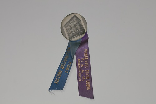 Image for Badge for Prince Hall Grand Lodge F. & A. M. Massachusetts Victory Celebration