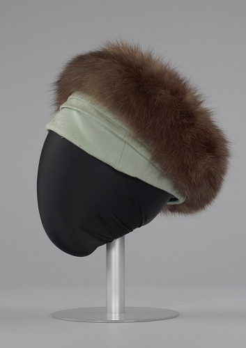 Image for Costume hat worn by Diana Ross as Billie Holiday in Lady Sings the Blues