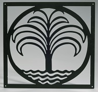 Wall hanging based on a design by Philip Simmons