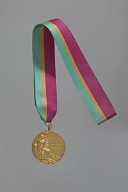 1984 Olympic Gold Medal for Men's 4 X 100 Meter Relay awarded to Carl Lewis