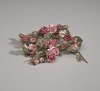 Thumbnail for Artificial pink flowers from Mae's Millinery Shop
