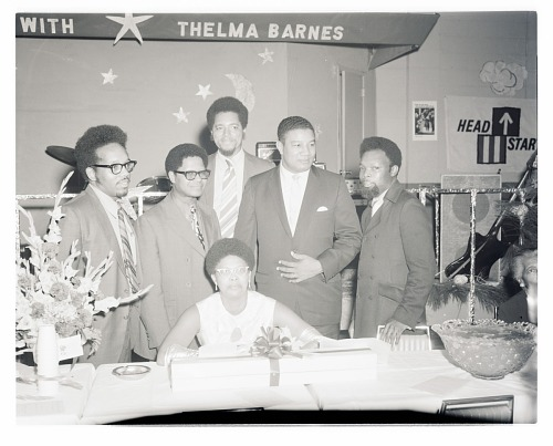 Image for Indoor Group Shot of Men and Women, Thelma Barnes