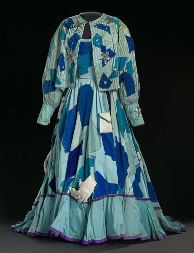 Image for Costume gown, petticoat, and jacket for Addaperle in The Wiz on Broadway